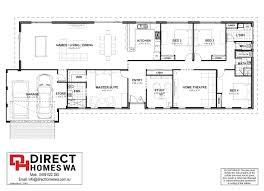 Farmhouse Floor Plan The Nambeelup Farmhouse Direct Homes Wa