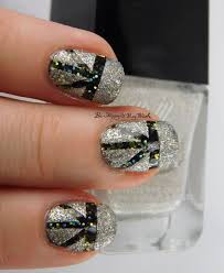 new year u0027s eve nail art with formula x explosive moon walk be
