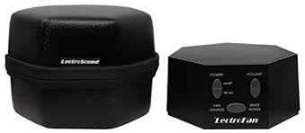 amazon white noise fan lectrofan fan sound and white noise machine with travel case
