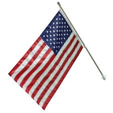 Flag Pole Repair Flags U0026 Flag Poles Outdoor Decor The Home Depot