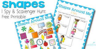 shape i spy free printable