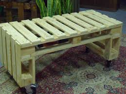 Patio Furniture Made From Pallets by Bench Simple Pallet Bench Ways Of Turning Pallets Into Unique