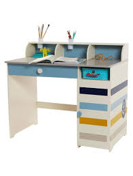 bureau enfant verbaudet bureau garçon multi rangements thème phare en vue beige imprime