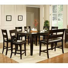 Dining Room High Tables by Weston Counter Height Table Espresso Sam U0027s Club