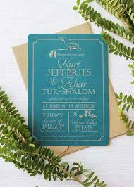 teal wedding invitations tui on a kowhai new zealand wedding invitation be my guest