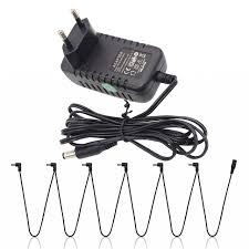 guitar effect pedal power adapter europe eu plug 9v ac plus 1 to 6