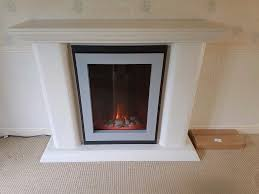 flamerite serene glass fronted 2kw electric fire in radcliffe
