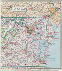 Va County Map Road Map Of Maryland And Virginia Virginia Map