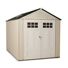 Rubbermaid Storage Shed Shelves by Rubbermaid Big Max 11 Ft X 7 Ft Ultra Storage Shed 1862548 The