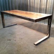 home design delightful wooden table top with metal legs