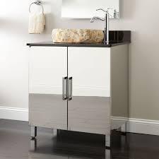 stainless steel bathroom vanities base european contemporary