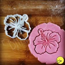 hibiscus flower cookie cutter biscuit cutters tropical