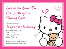 hello kitty birthday invitations blank yahoo image search