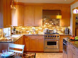 kitchen backsplashes honey oak kitchen cabinets flooring