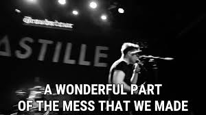 Bastille Bad Blood Flaws Live At The Troubadour Lyrics Bastille Song In Images
