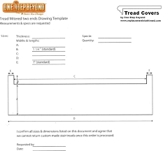Stair Tread by Replacement Stair Treads Stair Treads And Riser Covers