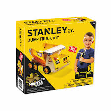 dump truck wood building kit ok006 sy stanley tools