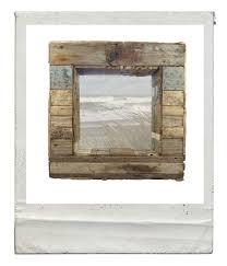 patchwork driftwood mirror nautilus driftwood design