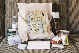 wedding gift bags ideas wedding welcome bags how you should pack yours inside weddings
