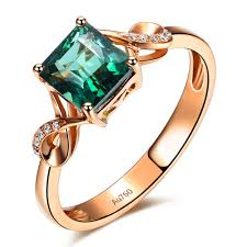 gold emerald engagement rings unique 1 50 carat emerald and infinity engagement ring in