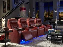 home theater recliner home theater seating be seated leather furniture michigan