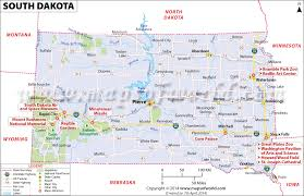 South Dakota natural attractions images Maps update 1000646 south dakota tourist attractions map jpg