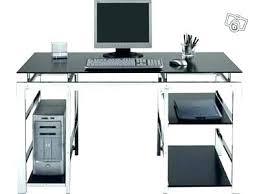bureau informatique fermé but meuble bureau bureau ordinateur noir meuble bureau verre bureau