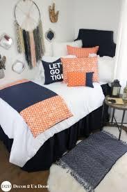orange u0026 coral bedding for dorm u0026 twin beds decor 2 ur door
