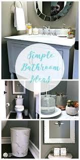 easy bathroom makeover ideas simple bathroom decorating ideas bathroom decor idea with simple