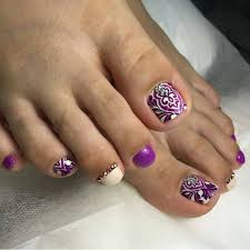 toenails design instagram photo by pedicurchik toe nails
