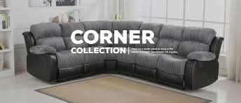Corner Recliner Sofas Sofa New Corner Recliner Sofa Fabric Decoration Ideas Collection