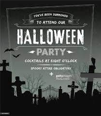halloween party background images spooky halloween party invite complete with cemetery and grunge