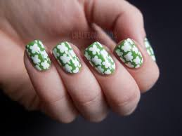 four leaf clover nail design gallery nail art designs