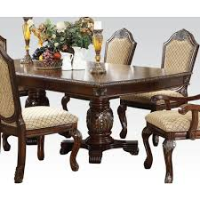 chateau de ville dining table multiple colors by acme furniture