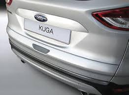 silver rgm rear guard bumper paint scuff protector ford kuga mk2