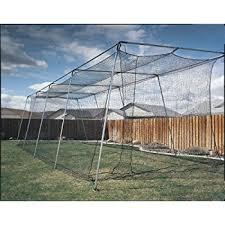 Backyard Batting Cages Reviews Amazon Com Atec Backyard Baseball Batting Cage 70 Feet