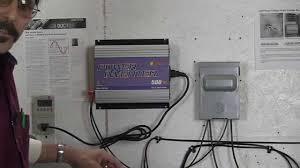 sun grid tie inverter plug and play install missouri wind and