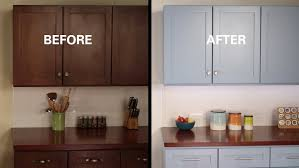 How To Reface Kitchen Cabinet Doors by Kilz How To Refinish Kitchen Cabinets Youtube