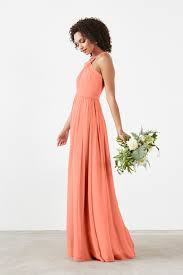 coral and gold bridesmaid dresses coral bridesmaid dresses weddington way