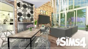 urban modern interior design the sims 4 apartment build urban modern family apartment speed