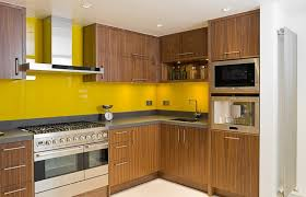 maple kitchens with oak cabinets yellow yellow kitchen with dark
