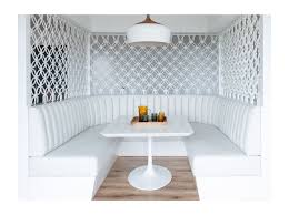 dining room banquette seating contemporary dining room via mr