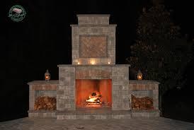 outdoor fireplace kits outdoor kitchen u0026 fireplace kits