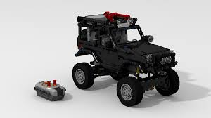 lego jeep instructions filsawgood lego technic creations lego technic suzuki jimny trial