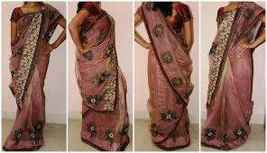Fish Style Saree Draping 8 Different Ways To Drape Saree Photo With Instructions On Draping