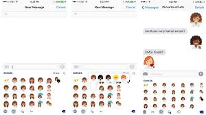 curly haired women now have their own emoji