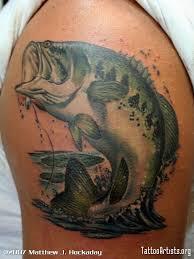 bass fishing tattoos for bass fishing tattoos fishing ink
