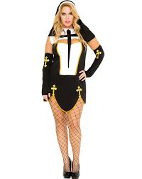 bad habit nun womens plus size costume u2013 spirit halloween