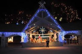 lasalette shrine plugging in energy saving lights local news