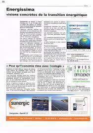 bureau d ude environnement suisse presse swiss energy efficiency